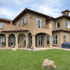 Luxury Residence Rear View