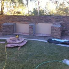 Backyard BBQ Installation