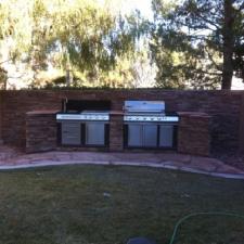 BackYard BBQ Installation Complete